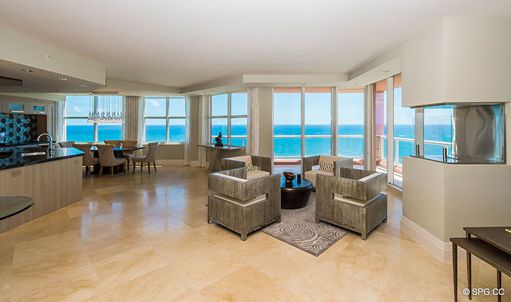 Residence 17e Tower I For Sale At The Palms Luxury Oceanfront Condominiums Fort Lauderdale