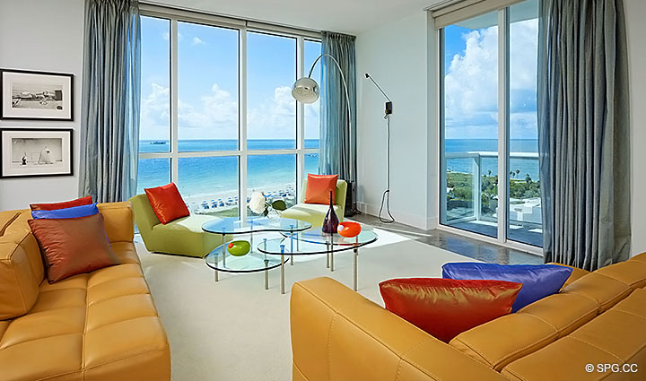 at the continuum luxury oceanfront condominiums in miami beach
