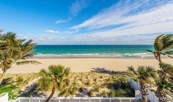 Stunning Beach Views from Luxury Oceanfront Home, 2712 North Atlantic Boulevard, Fort Lauderdale, Florida 33308