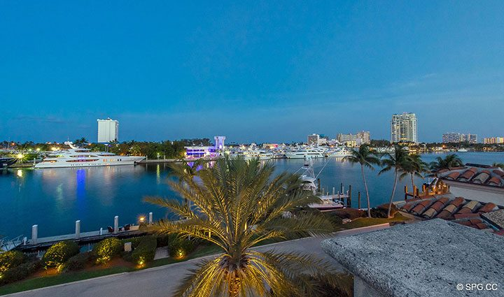 Mega Yacht Row at Estate Home 709 Idlewyld Drive, Fort Lauderdale, Florida 33301