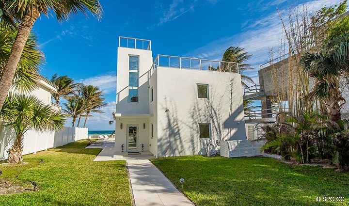 Luxury Oceanfront Home, 2712 North Atlantic Boulevard, Fort Lauderdale, Florida 33308