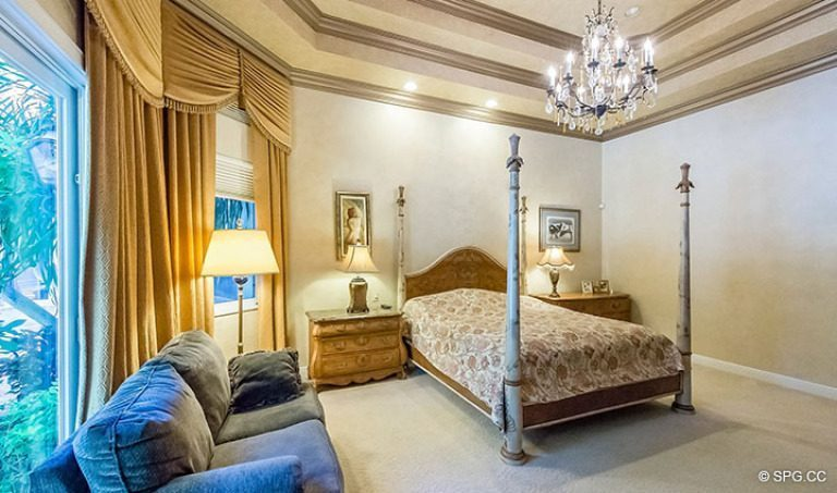 Master Bedroom in Luxury Estate Home, 16260 Bridlewood Circle, Delray Beach, Florida 33445
