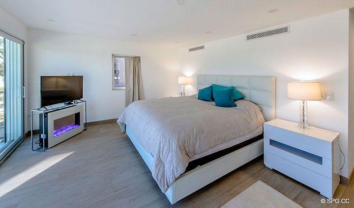 Master Suite in Luxury Oceanfront Home, 2712 North Atlantic Boulevard, Fort Lauderdale, Florida 33308