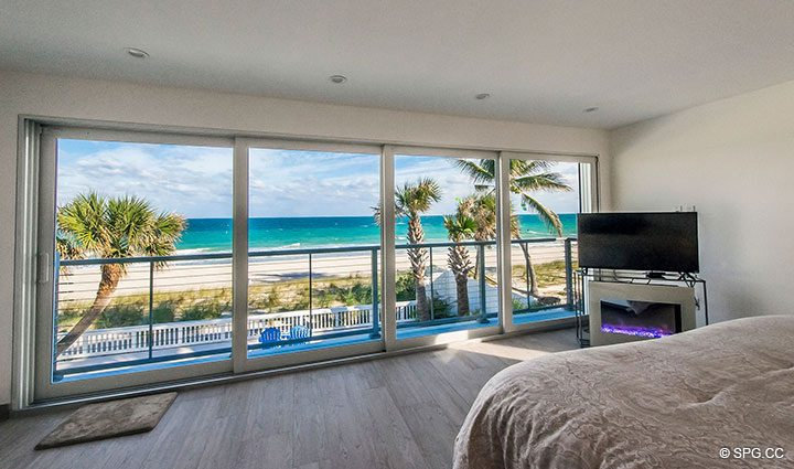 Beachfront Master Suite in Luxury Oceanfront Home, 2712 North Atlantic Boulevard, Fort Lauderdale, Florida 33308