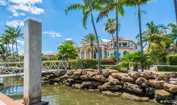 Expansive Private Dock for Estate Home 709 Idlewyld Drive, Fort Lauderdale, Florida 33301