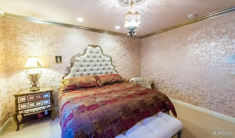 Bedroom inside Luxury Estate Home, 16260 Bridlewood Circle, Delray Beach, Florida 33445