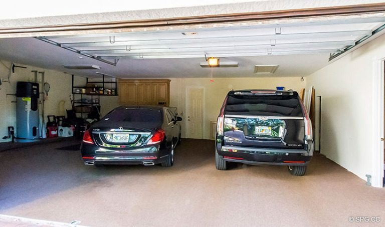 Garage for Luxury Estate Home, 16260 Bridlewood Circle, Delray Beach, Florida 33445