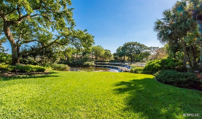 Gorgeous Lush landscaping at Luxury Estate Home, 16260 Bridlewood Circle, Delray Beach, Florida 33445