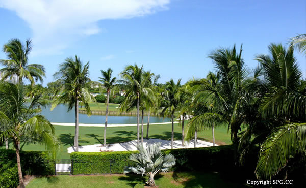 Golf Course View at Luxury oceanfront residence 6919 Valencia Drive, Fisher Island, Florida 33109