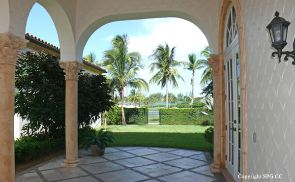 Golf Course View from at Luxury oceanfront residence 6919 Valencia Drive, Fisher Island, Florida 33109