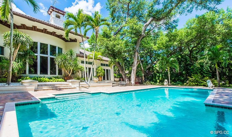 Pool at Luxury Estate Home, 16260 Bridlewood Circle, Delray Beach, Florida 33445