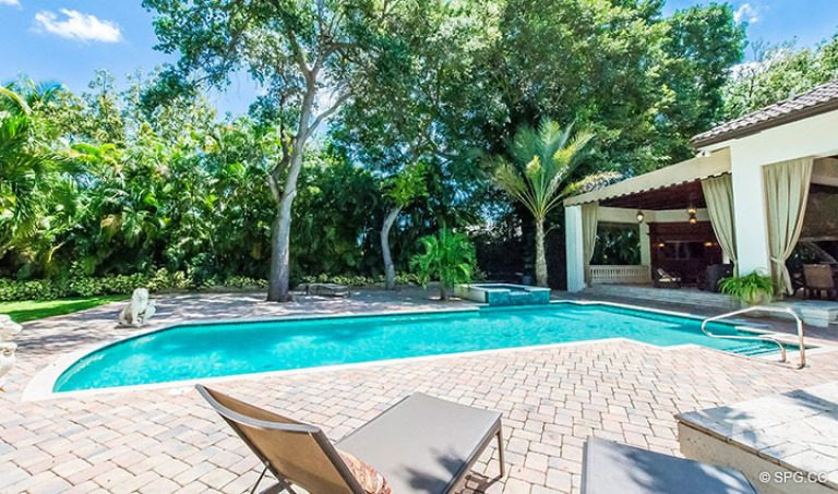 Pool Deck for Luxury Estate Home, 16260 Bridlewood Circle, Delray Beach, Florida 33445
