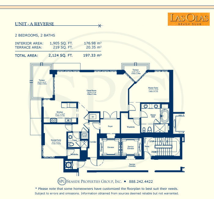 Landings At Las Olas Floorplan