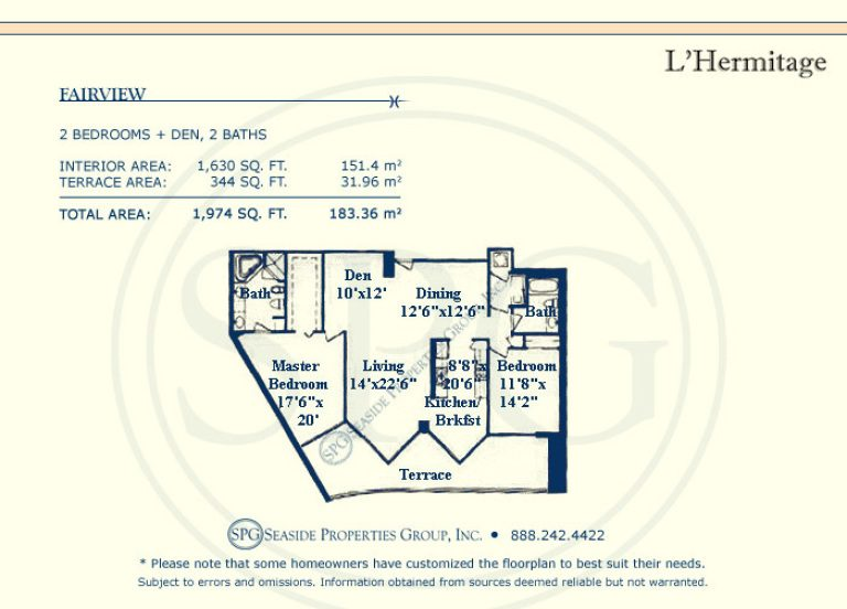 floorplan, l'hermitage, north, fairview, l'hermitage, luxury, oceanfront, condo, florida, 33308