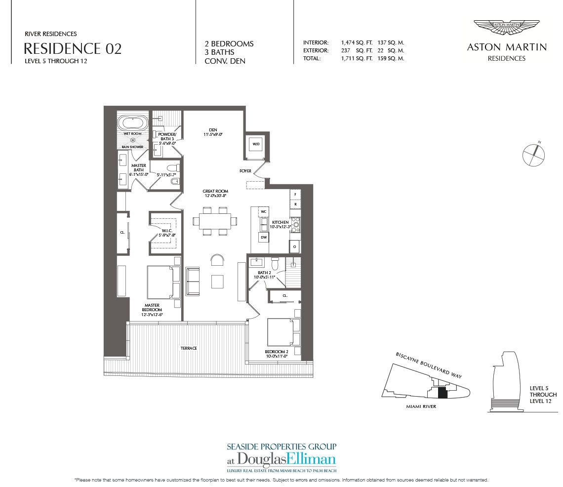 Click to View the River Residence 02 Floorplan