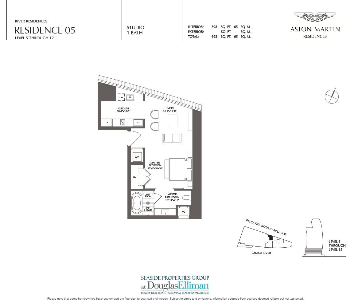 Aston Martin Residences Floor Plans, Luxury Waterfront