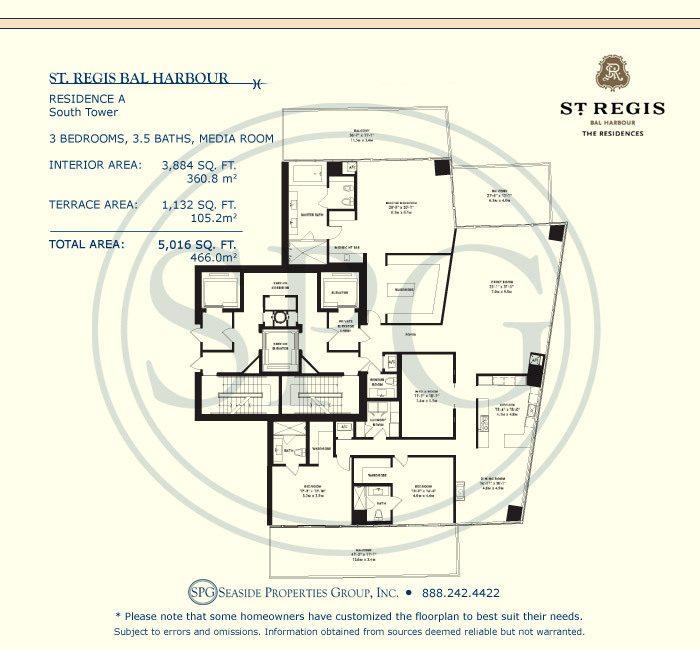 st regis bal harbour floor plans luxury oceanfront st regis bal harbour condos for sale 9701 collins ave