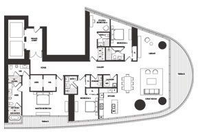Click to View the River Residence 01 Floorplan