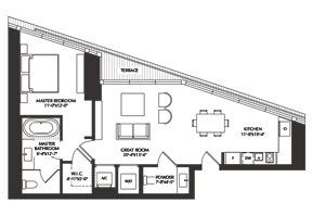 Click to View the River Residence 06 Floorplan