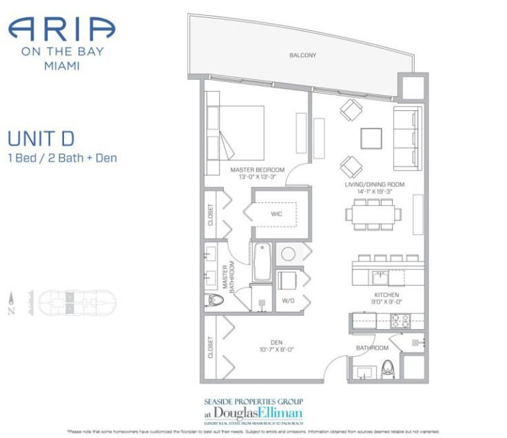 Aria On The Bay Floor Plans Luxury Waterfront Condos In Miami