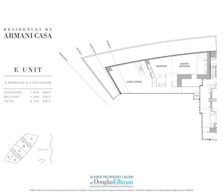 Residences By Armani Casa Floor Plans Luxury Oceanfront Condos In Sunny Isles Beach Florida 33160