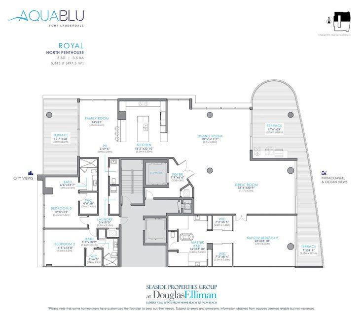 Aquablu Floor Plans Luxury Waterfront Condos In Fort Lauderdale Florida 33304