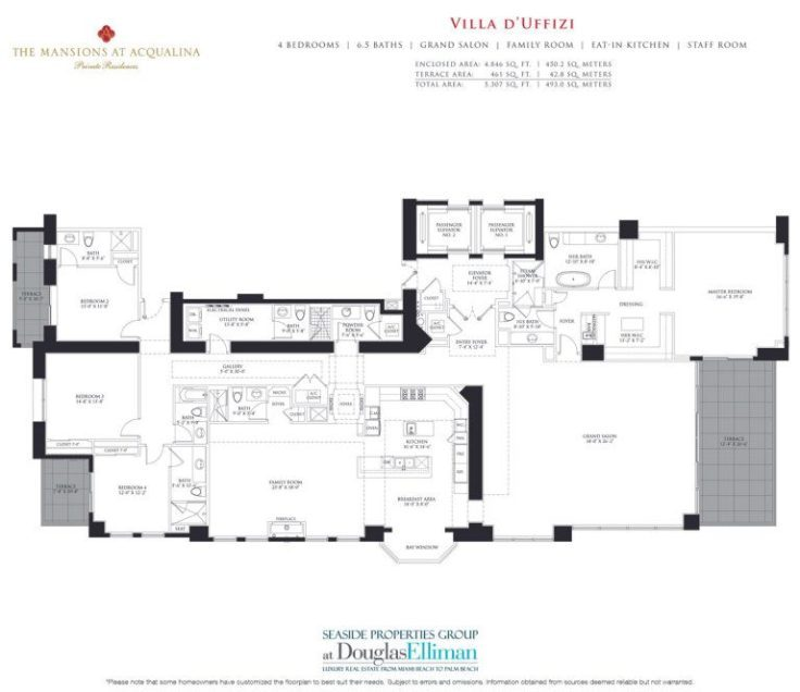 Mansions At Acqualina Floor Plans Luxury Oceanfront Condos In Sunny Isles Beach
