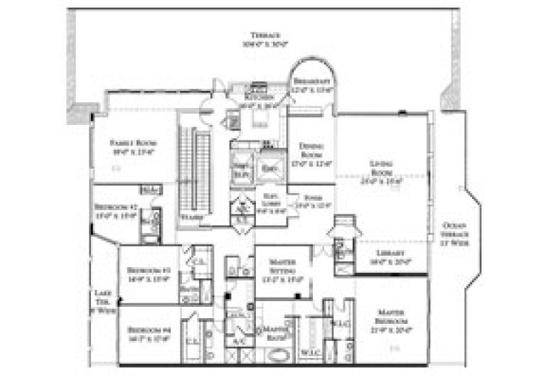 Click to View Penthouse 6 Floorplan