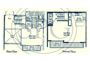 Click to View the Townhouse C Floorplan