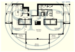 Click to View the Penthouse 2 Floorplan