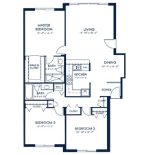 Click to View Residence A Floorplan