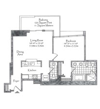 Thumbnail Residence 03 Floorplan at The Setai, Luxury Oceanfront Condo Residences on Miami Beach, Florida 33139