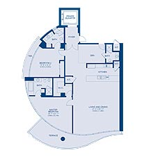 Click to View the Residence G Floorplan
