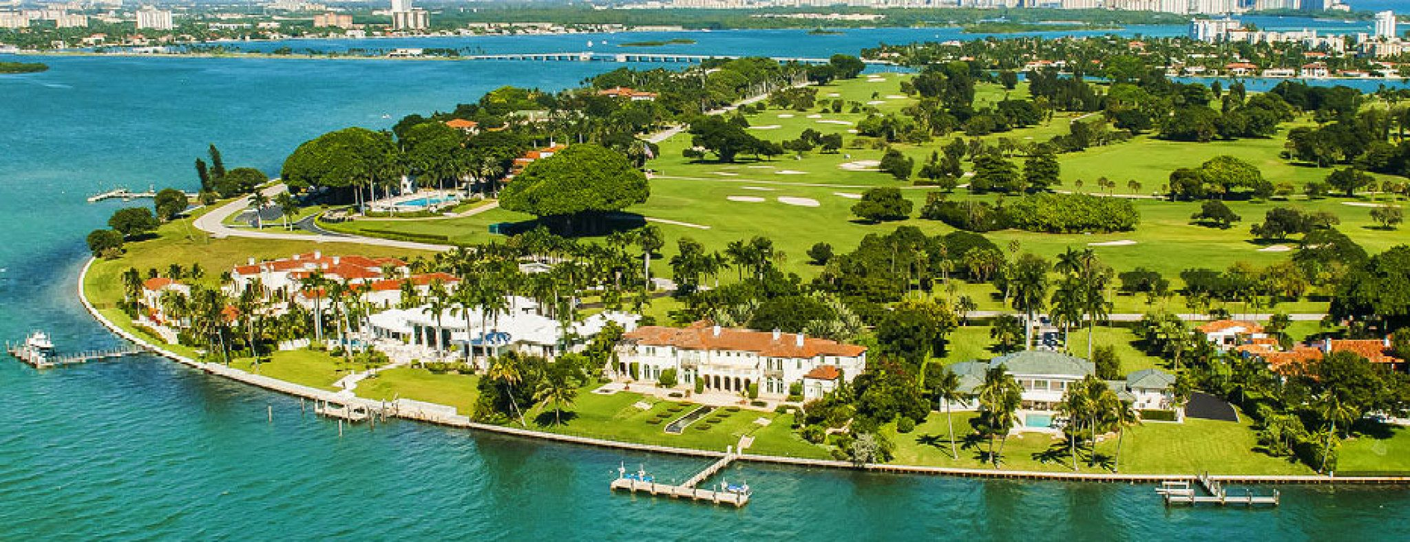 Featured Community - The Estates on Indian Creek Island, Star Island and Palm Island are Prized Waterfront Retreats, Minutes from Miami.
