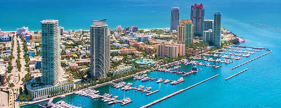 Featured Community - Famed South Beach features Luxury Condos Such as Murano, Murano at Portofino, Portofino, Apogee, and Continuum I and II.