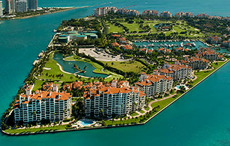 Fisher Island Luxury Waterfront Homes