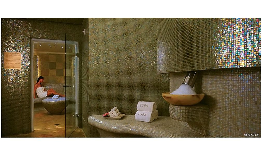 Spa at Acqualina, Luxury Oceanfront Condominiums Located at 17885 Collins Avenue, Sunny Isles Beach, FL 33160