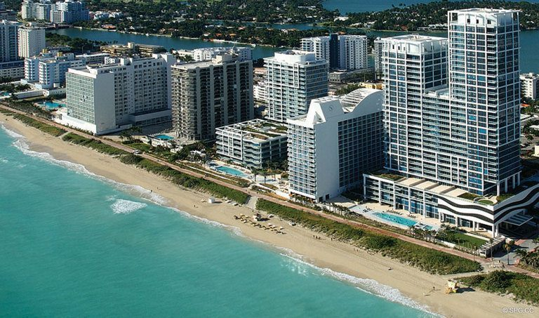 Canyon Ranch Living, Luxury Oceanfront Condominiums Located at 6799-6899 Collins Avenue, Miami Beach, FL 33141