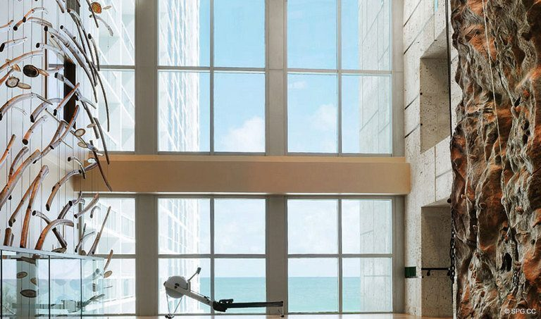 Ocean Views from Canyon Ranch Living, Luxury Oceanfront Condominiums Located at 6799-6899 Collins Avenue, Miami Beach, FL 33141