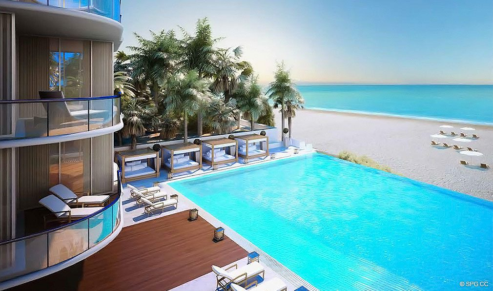 Chateau beach residences luxury oceanfront condos in - Sunny beach pools ...