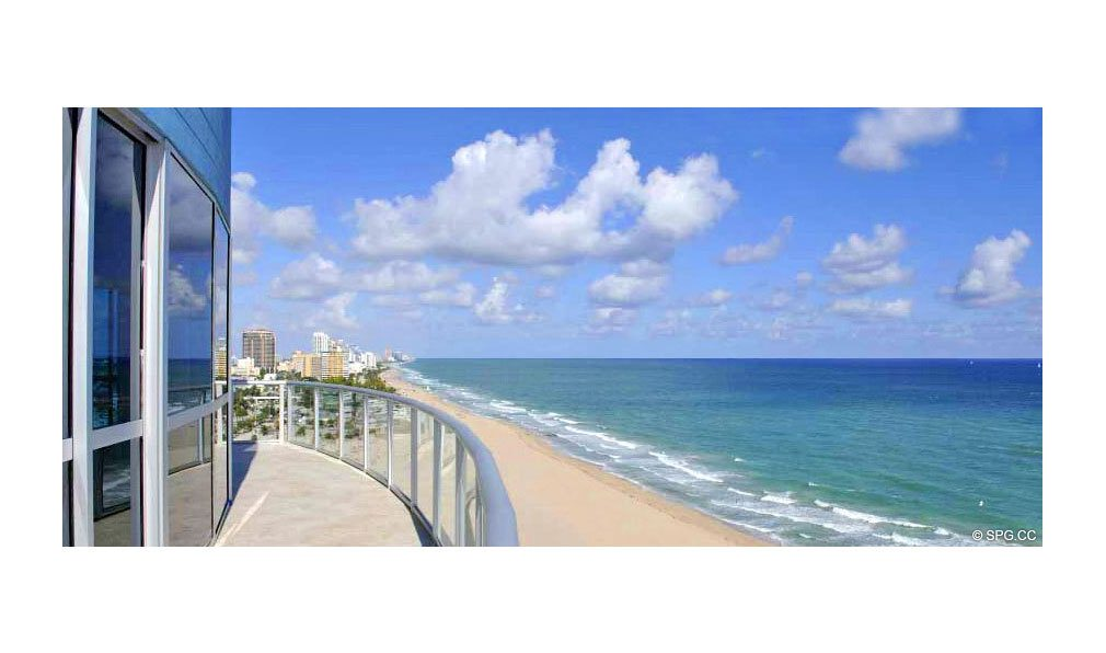 Terrace at Coconut Grove Residences, Luxury Oceanfront Condominiums Located at 1200 Holiday Dr, Fort Lauderdale, FL 33316