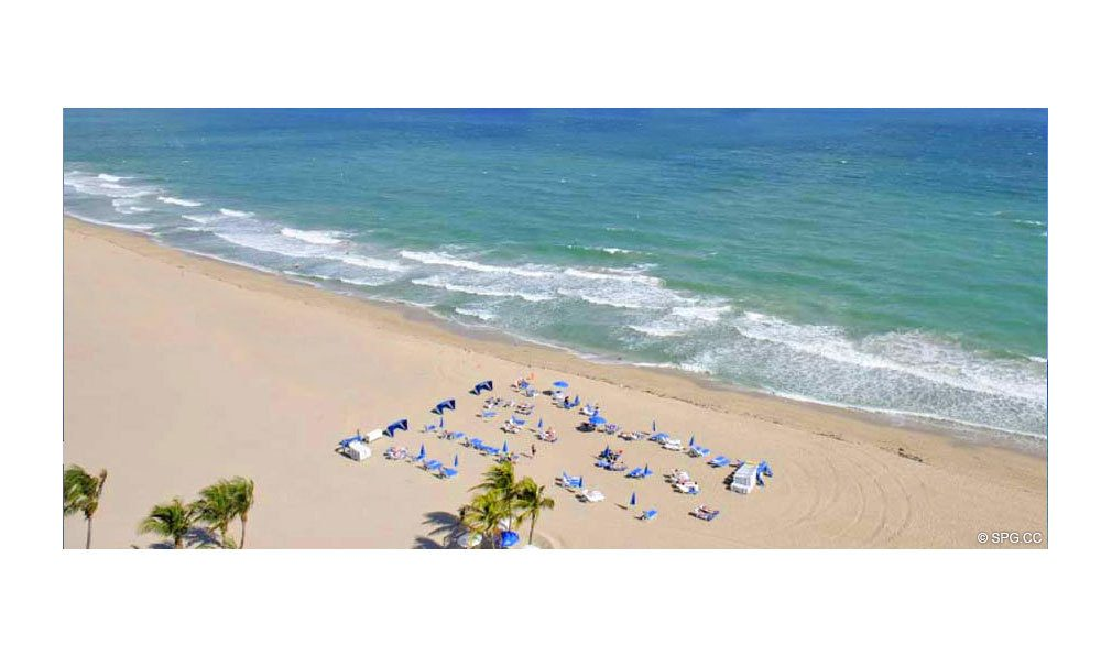 Beach at Coconut Grove Residences, Luxury Oceanfront Condominiums Located at 1200 Holiday Dr, Fort Lauderdale, FL 33316