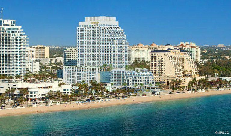 Conrad Luxury Oceanfront Condos In Ft Lauderdale