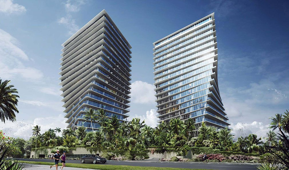Grove at Grand Bay, Luxury Waterfront Condominiums at 2669 South Bayshore Dr, Miami, FL 33133
