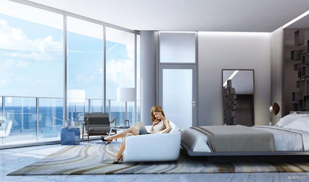 One Ocean Bedroom Luxury Oceanfront Iniums Located At 91 Collins Ave Miami Beach