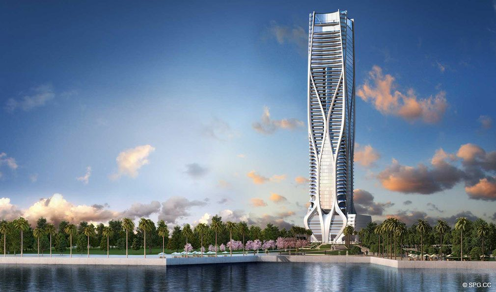 One Thousand Museum, Luxury Waterfront Condominiums Located at 1000 Biscayne Blvd, Miami, FL 33132