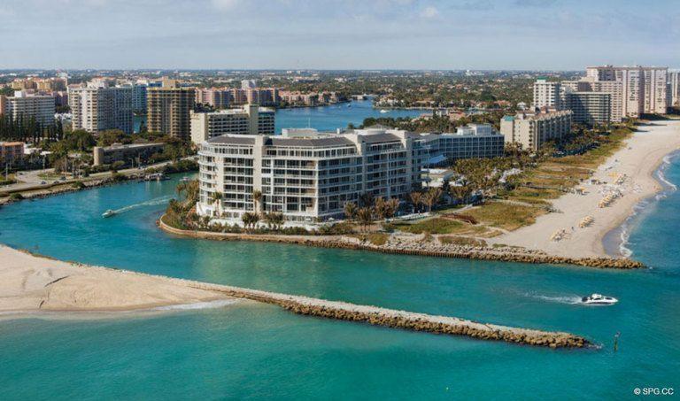 ... Umgeben Von Wasser Bei One Thousand Ozean, Luxury Oceanfront  Condominiums Auf 1000 S Ocean Blvd ...