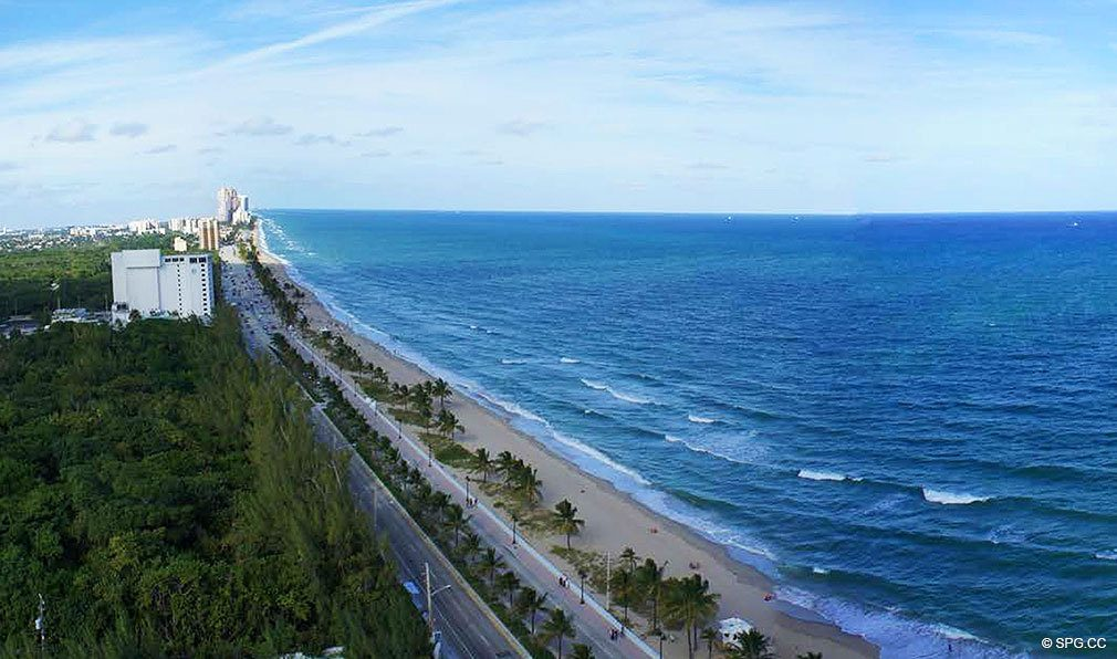 Ocean Views from Paramount, Luxury Oceanfront Condominiums Located at 700 N Atlantic Blvd, Ft Lauderdale, FL 33304