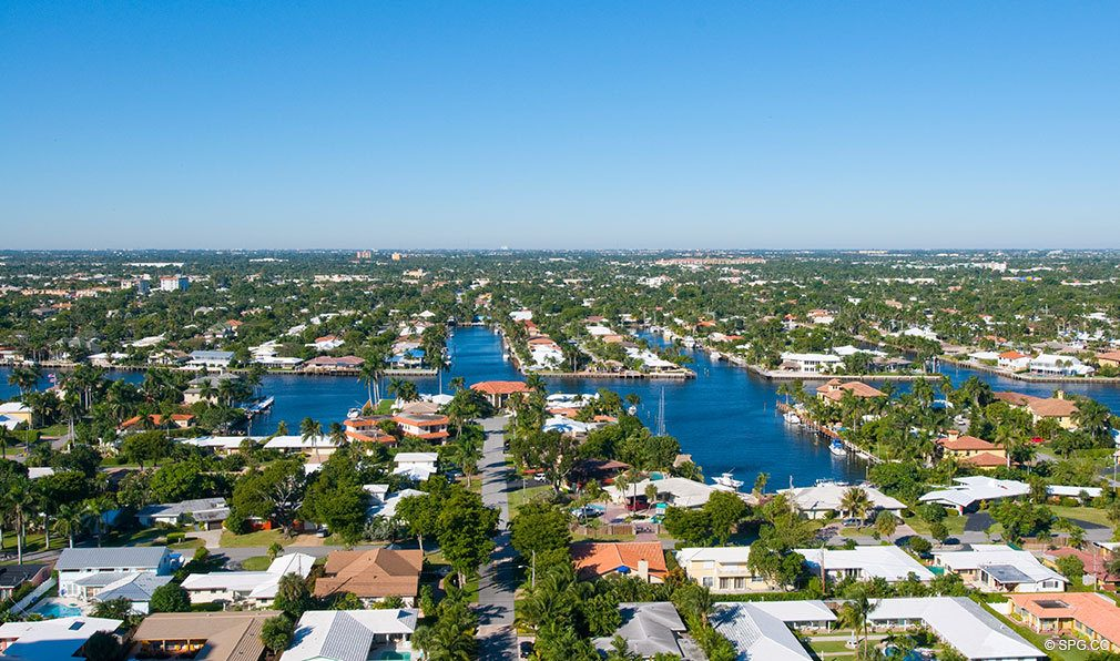 Intracoastal Views from Palms, Luxury Oceanfront Condominiums Located at 2100-2110 N Ocean Blvd, Ft Lauderdale, FL 33305