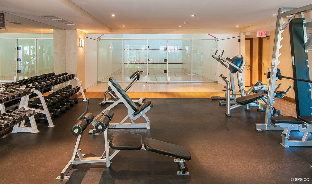 Palms Gym, Luxury Oceanfront Condominiums Located at 2100-2110 N Ocean Blvd, Ft Lauderdale, FL 33305